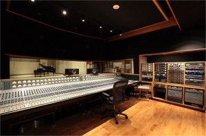 East West Studios Control Room